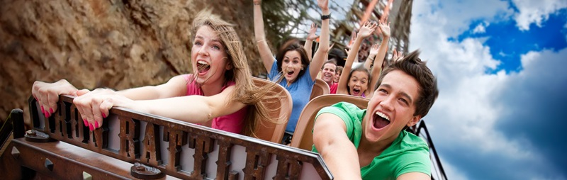 Enjoy a day of family fun at Six Flags Fiesta Texas!