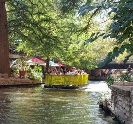 San antonio riverwalk Foto